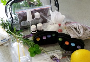 Aromatherapy travel suggestions