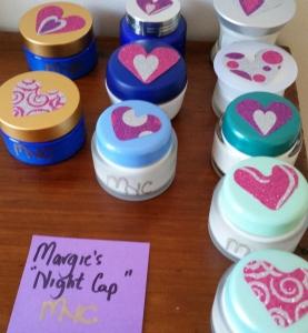 Aromatherapy face creams