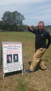 Paul White ,experienced Bagua Circle Walking Teacher