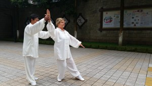Qigong daily practice
