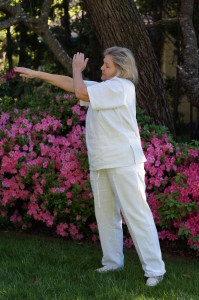 Qi Gong warm up with Margie Hare