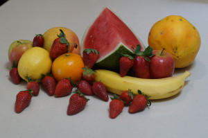 Fresh organic fruit daily
