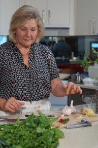 Margie Cooking with Herbs