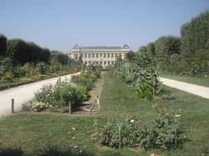 Grand entrance to the Paris zoo gardens.
