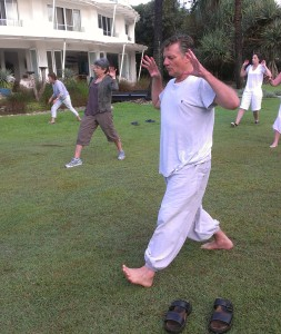 Mark Phillips teaching Jin Jing Gong