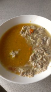 Pumpkin and Chinese Chicken Soup