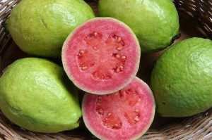 Guava, packed with Vitamin C