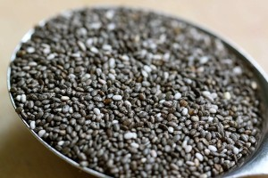 Chia seeds - packed with nutrition