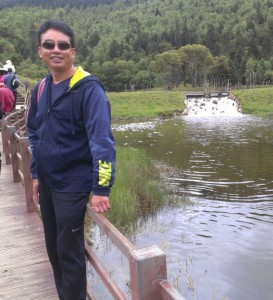 Master Zhao leading the study tour in China 2013